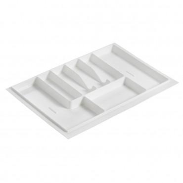 Лоток для столовых приборов (740x490), Белый