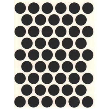 Заглушка WG самокл. D=14мм (черный) 50 шт.